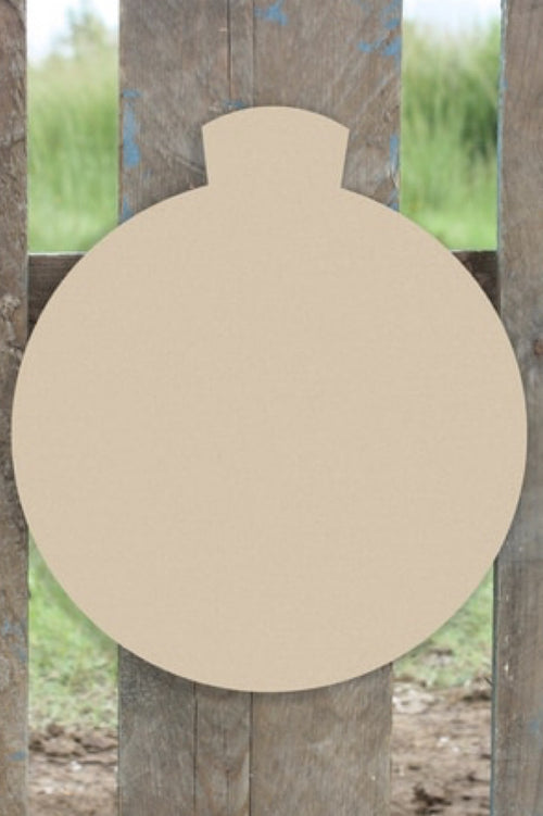 """Ornament"" Wooden Door Hanger ~ Paint Yourself"