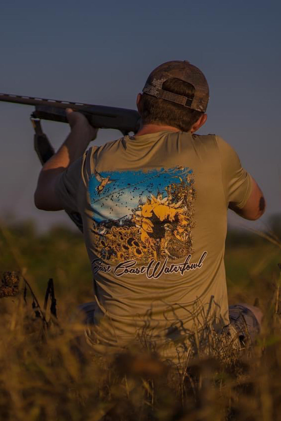 Dove Short Sleeve Dri Fit Shirt by East Coast Waterfowl