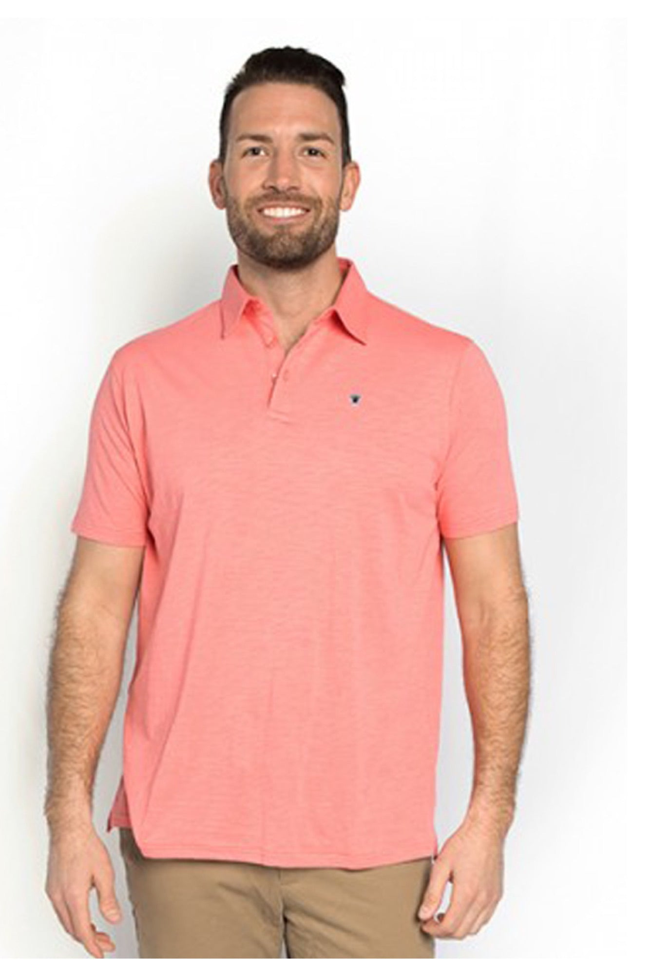 Simply Southern Jack Ocean Washed Polo for Men