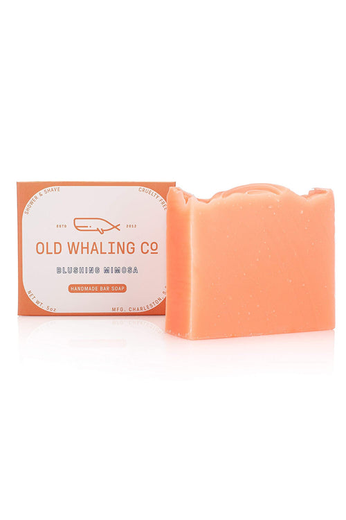 Blushing Mimosa Bar Soap by Old Whaling Co