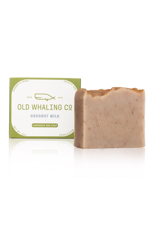 Coconut Milk Bar Soap by Old Whaling Co