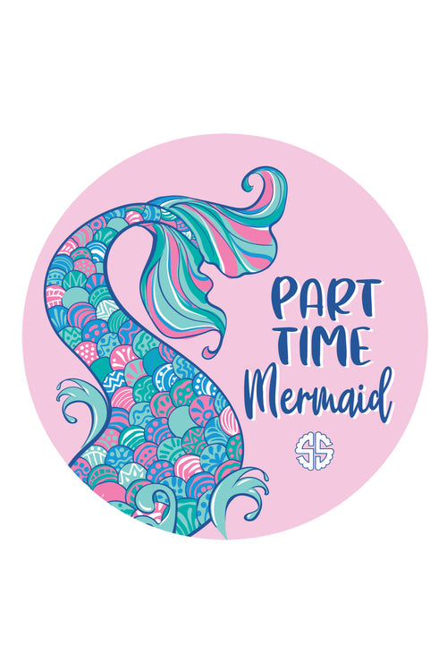 """Mermaid"" Car Coasters by Simply Southern"