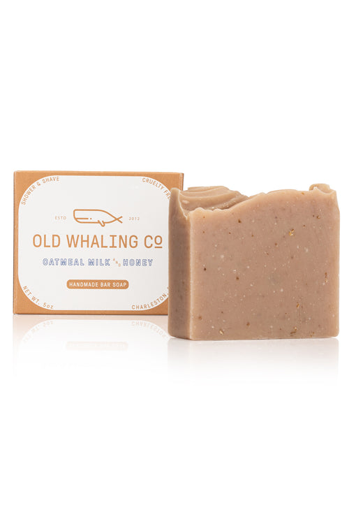 Oatmeal Milk & Honey Bar Soap by Old Whaling Co