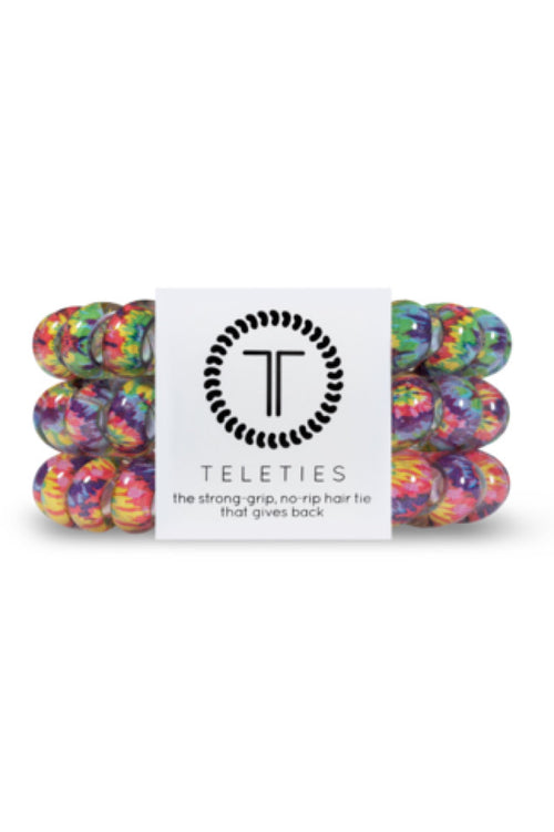 Teleties ~ Psychedelic, Small 3 pack