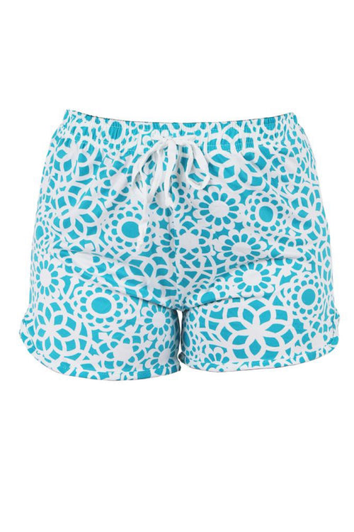Tranquil Turquoise Lounge Shorts