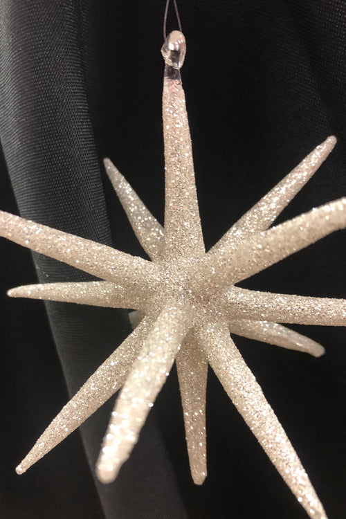 Sliver Twinkle Star Ornament