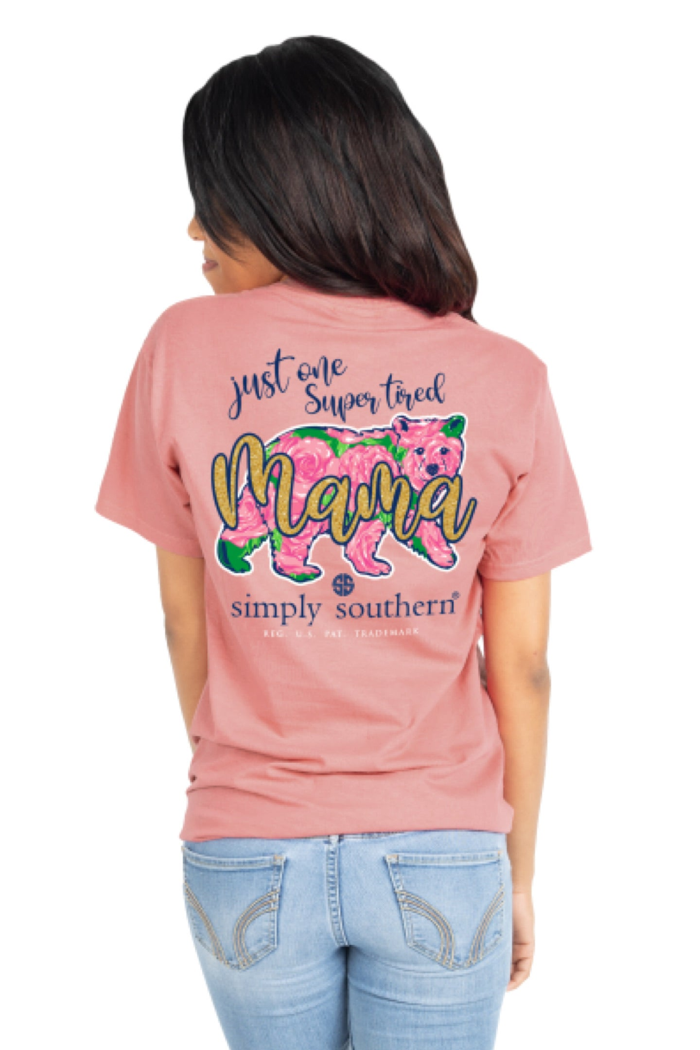 Simply Southern Simple Tired Mama Tee