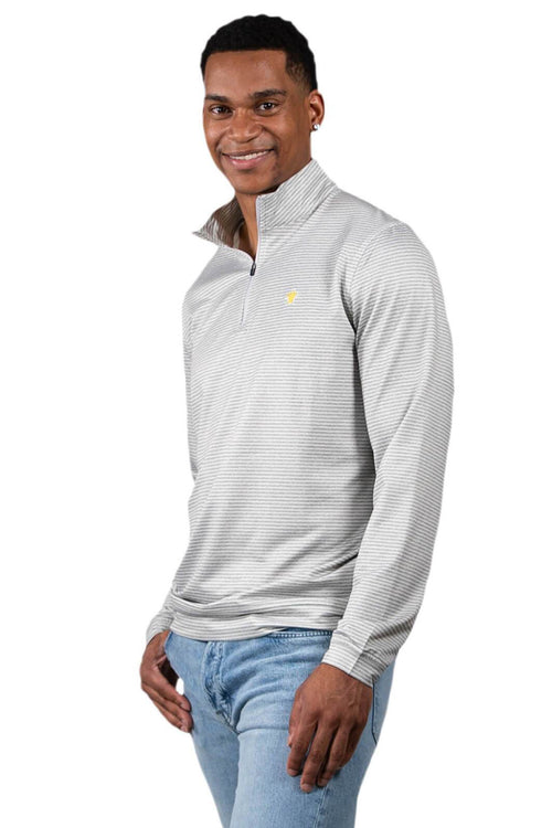 Simply Southern Striped Quarter Zip Pullover