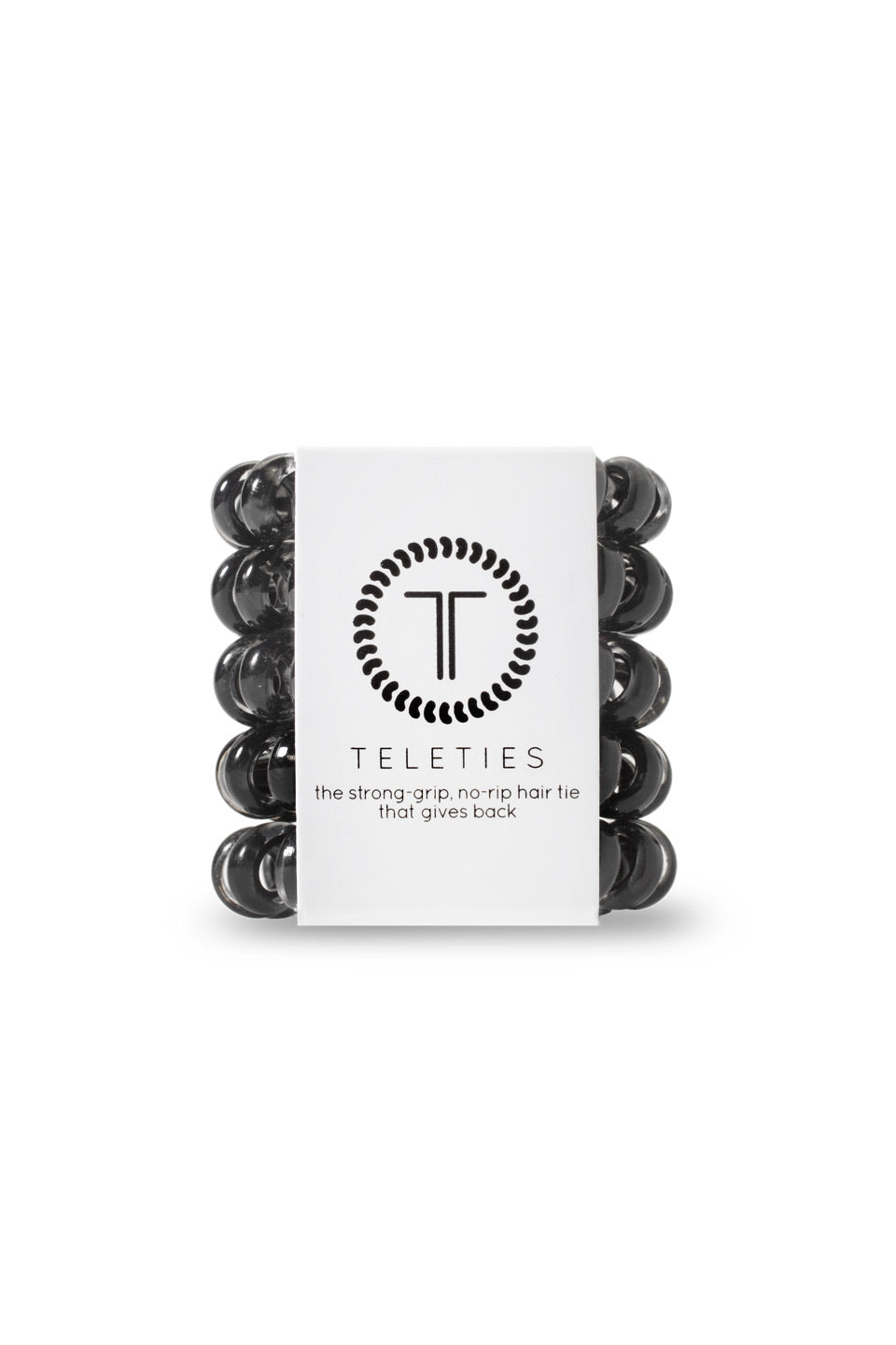 Teleties ~ Jet Black tinyTELES 5 pack