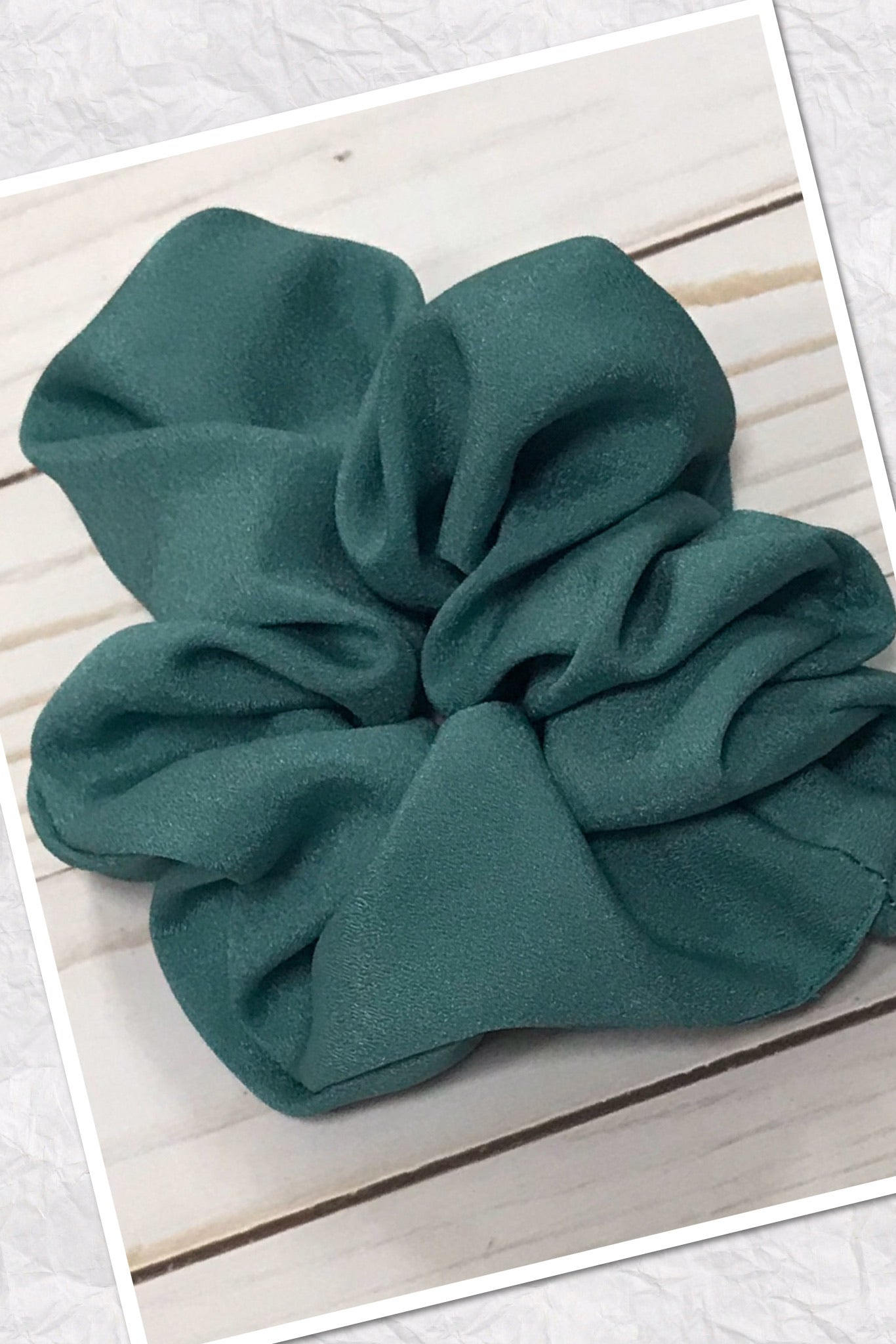 Large Satin Hair Scrunchies