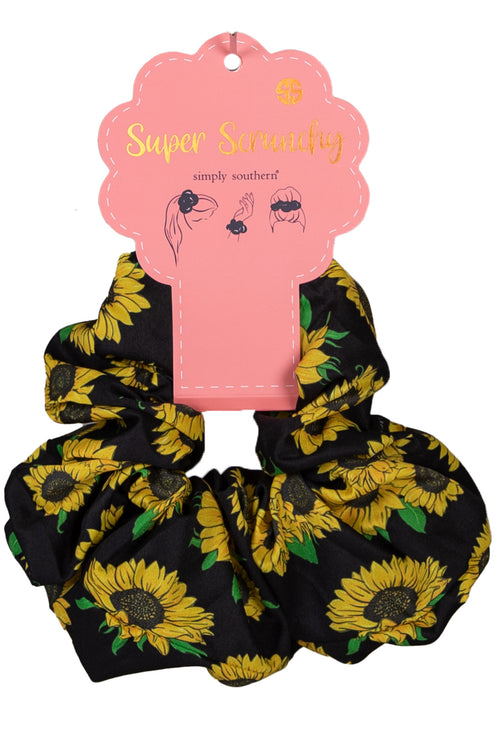 """Sunflower"" Super Scrunchy by Simply Southern"