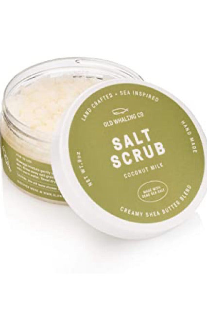 Coconut Milk Salt Scrub by Old Whaling Co