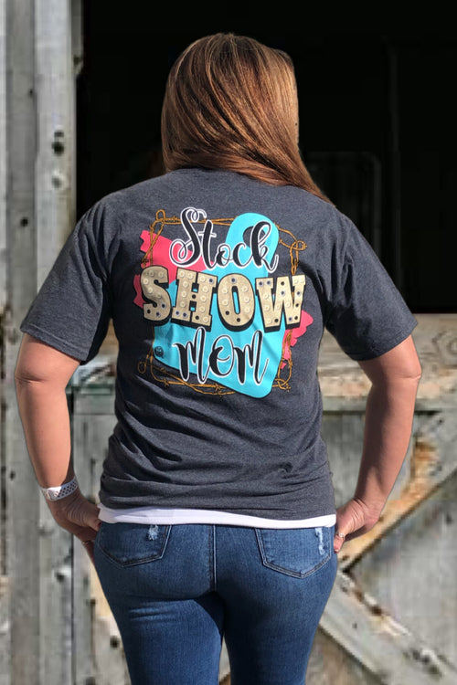 Stock Mom Tee by Girlie Girl