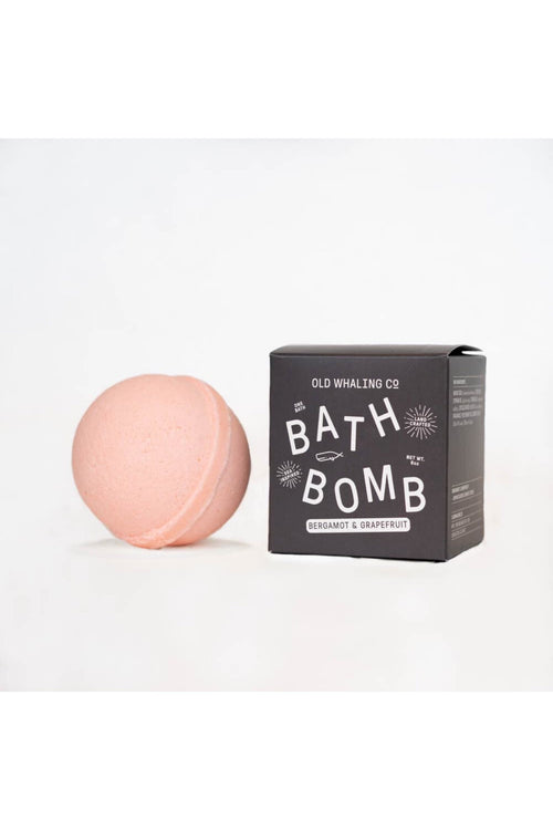Bergamot and Grapefruit Bath Bomb by Old Whaling Co.