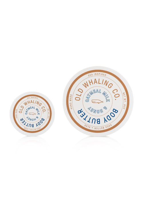 Oatmeal Milk & Honey Body Butter by Old Whaling Co.