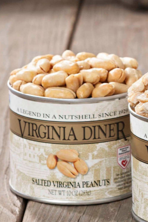 Salted Peanuts by Virginia Diner