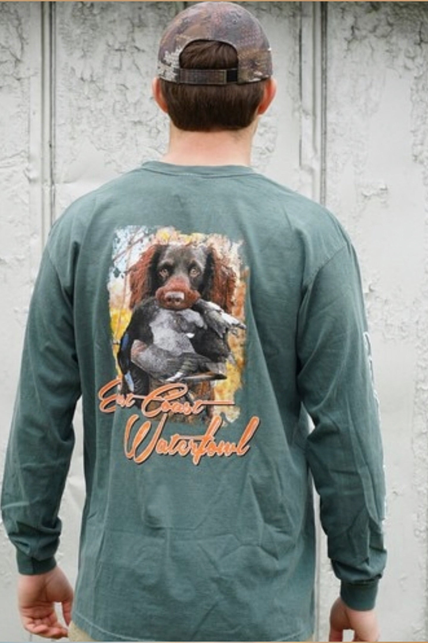 Boykin Spaniel Waylon T-Shirt by East Coast Waterfowl