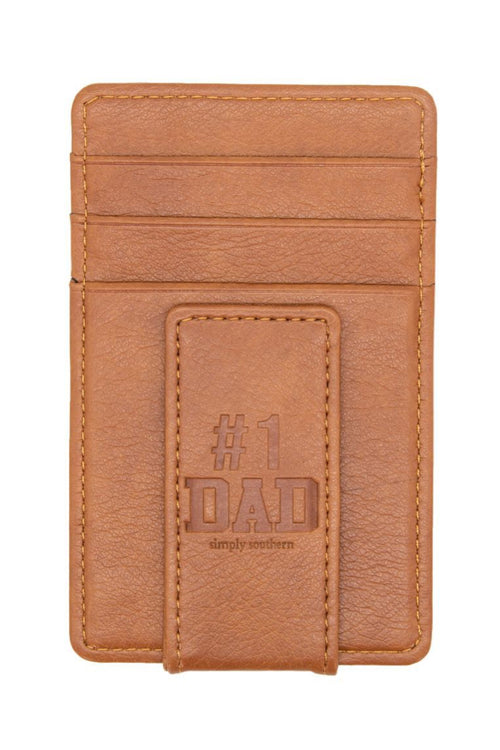 """Dad"" Leather Money Clip by Simply Southern"
