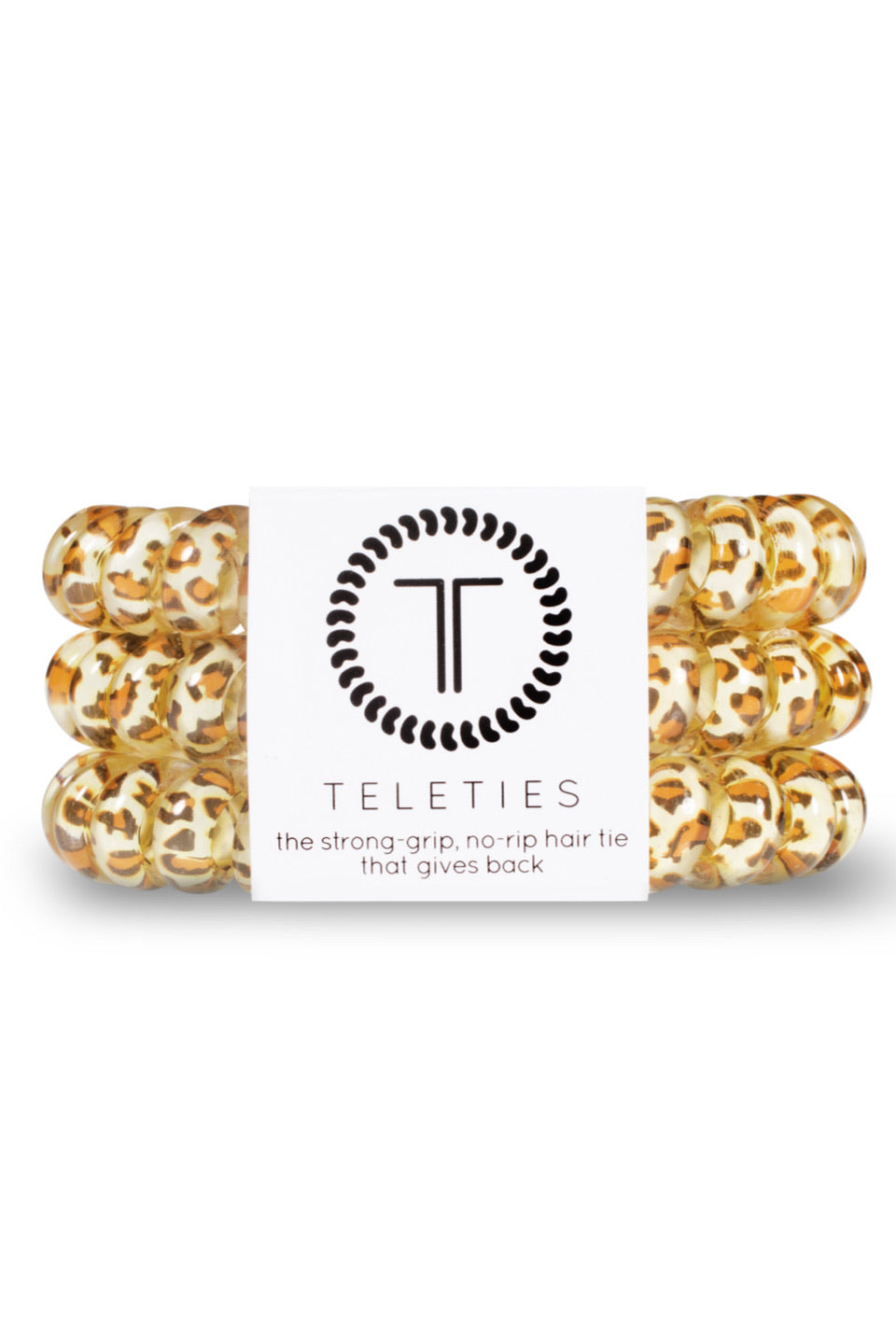 Teleties ~ Leopard, Large 3 pack