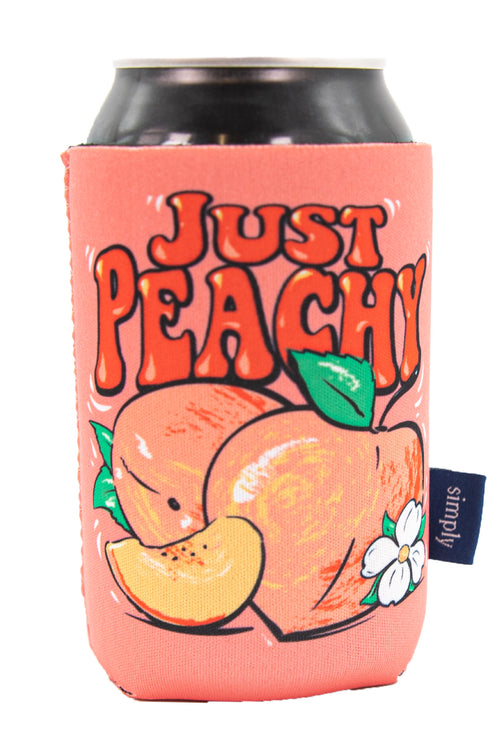 """Peachy"" Can Holder by Simply Southern"