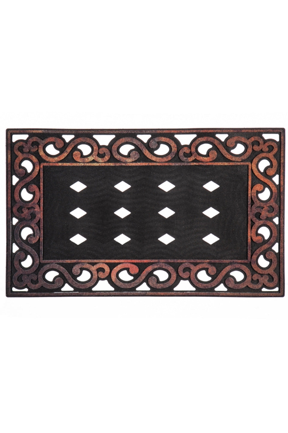 Variegated Scroll Mat Tray by Sassafras