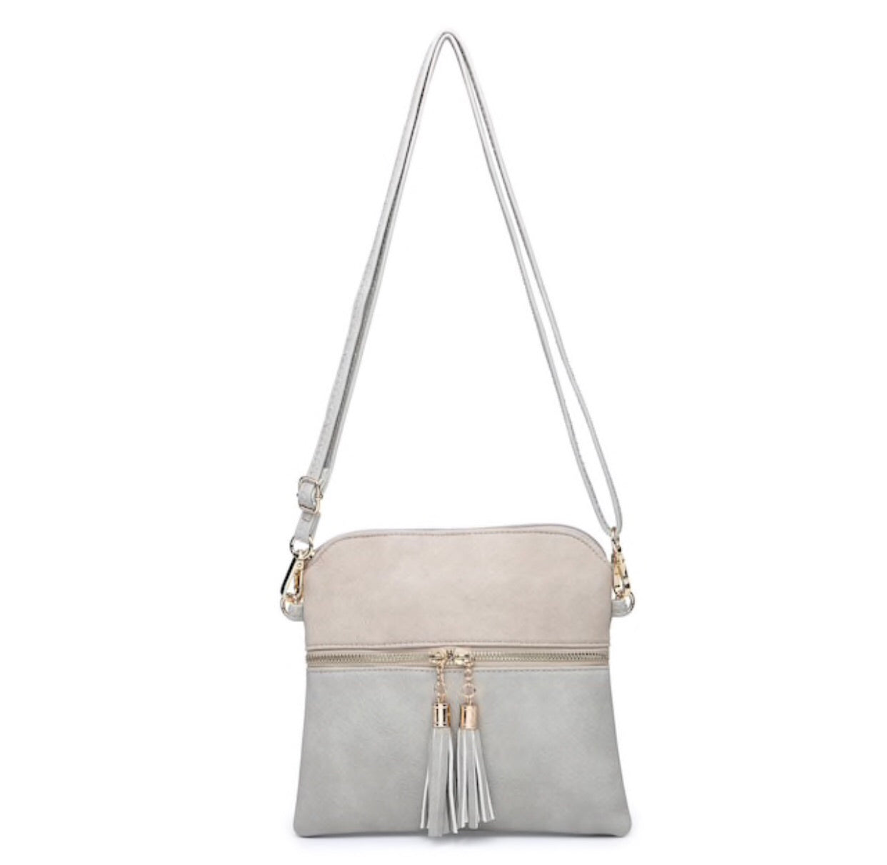 Tara Two Tone Crossbody