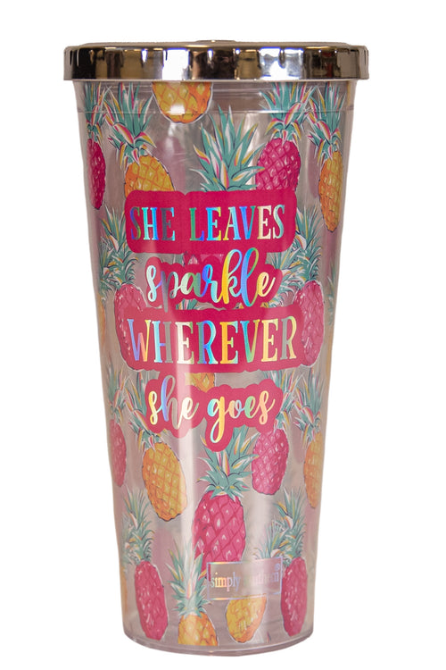 Plastic Tumblers by Simply Southern