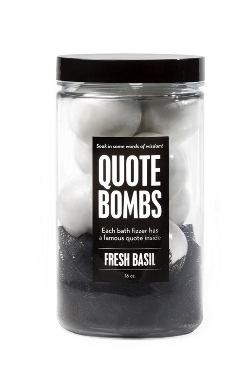 Quote Bombs Jar