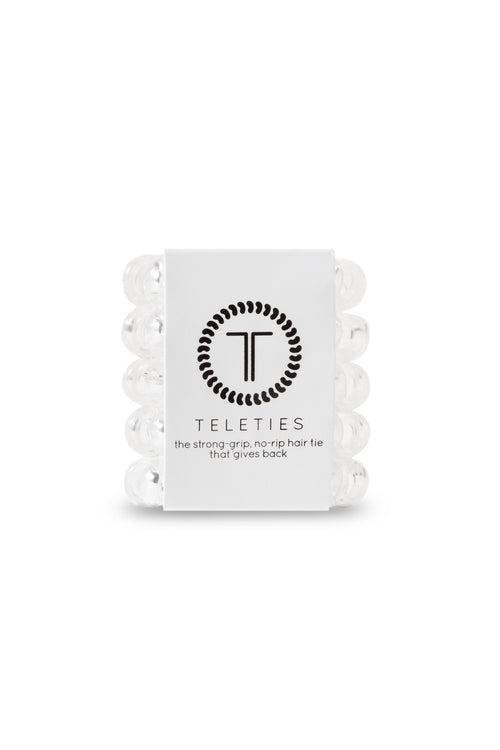 Teleties ~ Crystal Clear tinyTELES 5 pack