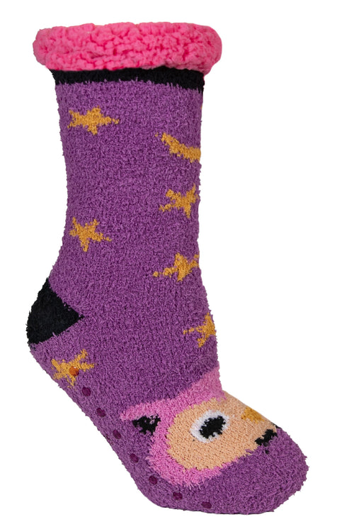 Owl Animal Camper Socks by Simply Southern