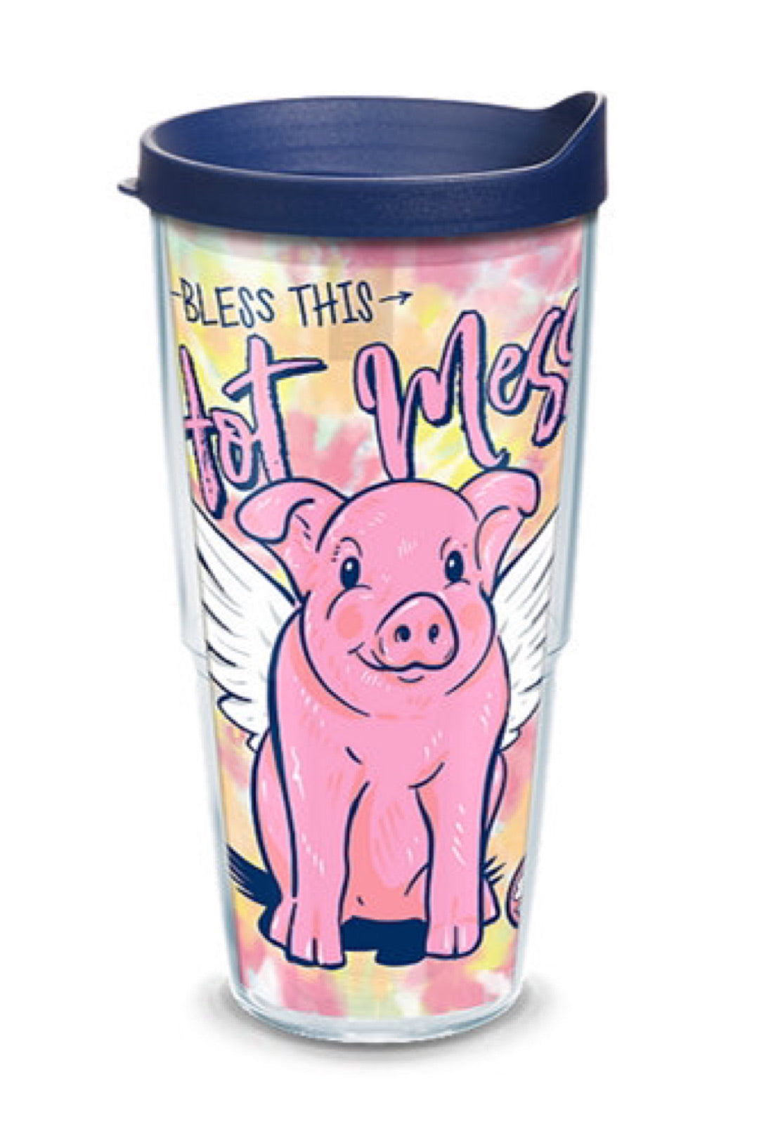Simply Southern - Hot Mess Pig Plastic Tumblers by Tervis
