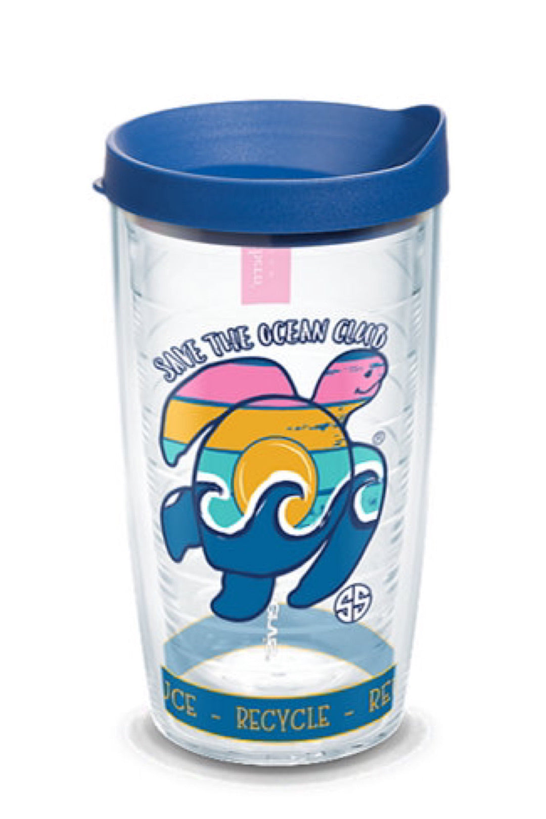 Simply Southern - Turtle Waves Plastic Tumblers by Tervis
