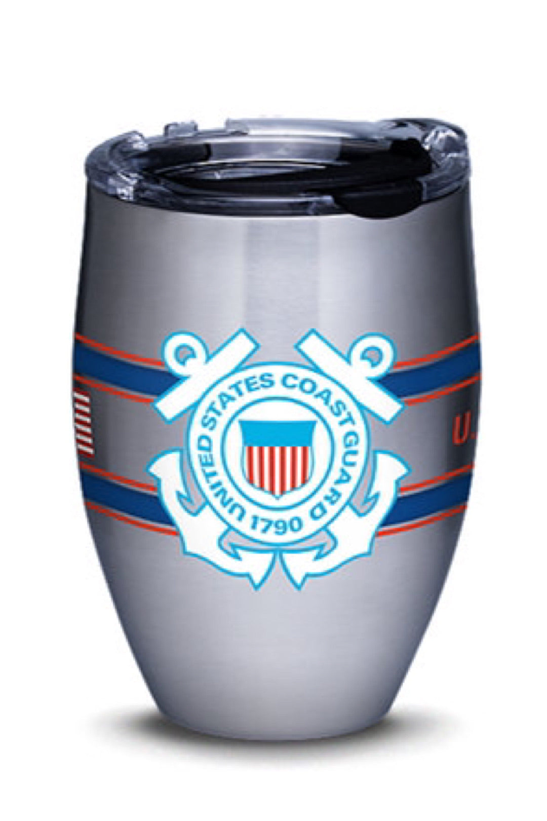 Coast Guard Camo Stripes Stainless Steel Drinkware by Tervis
