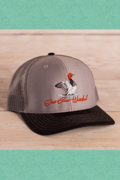 Red Head Snap Back Hat by East Coast Waterfowl