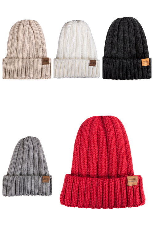 Simply Southern Ribbed Knit Beanie