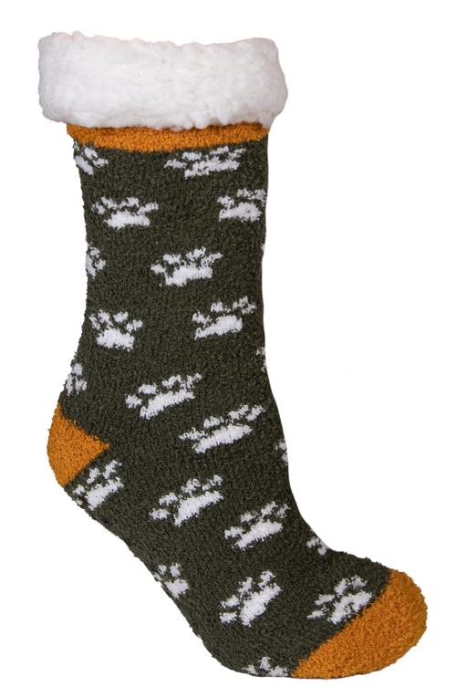 Paw Pattern Camper Socks by Simply Southern