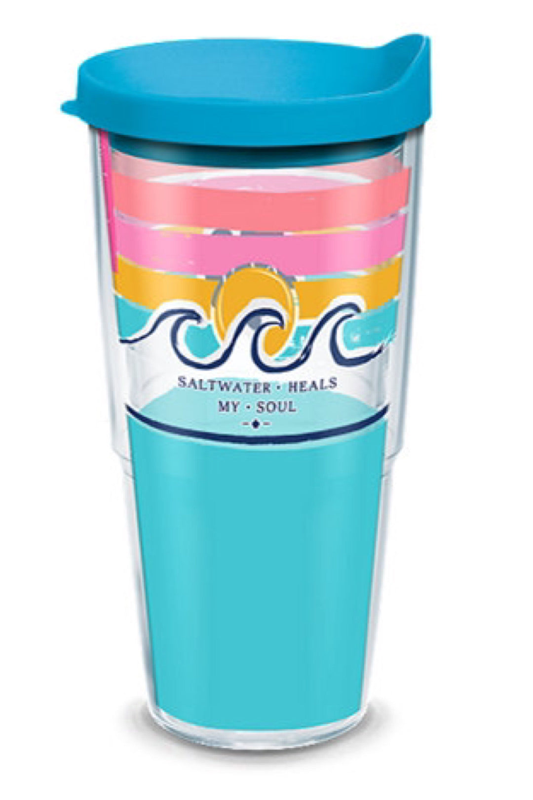Simply Southern - Salt Water Heals Plastic Tumblers by Tervis