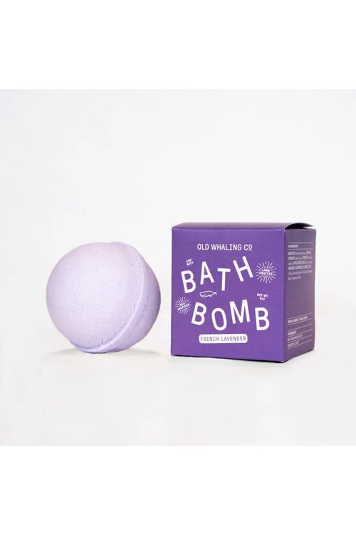 French Lavender Bath Bomb by Old Whaling Co.