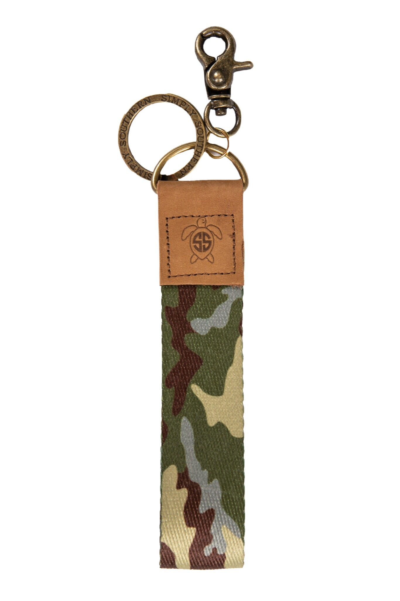 Simply Southern Canvas Keychains