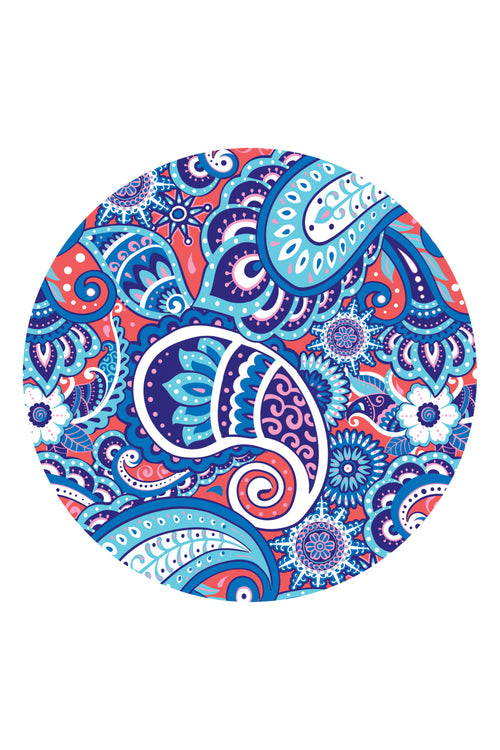 """Paisley"" Car Coasters by Simply Southern"