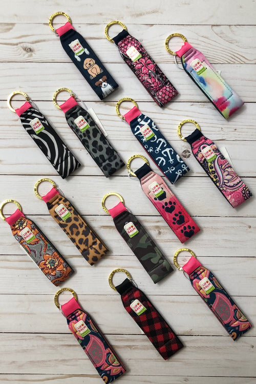 Simply Southern Key Fobs with Lip Balm Holder