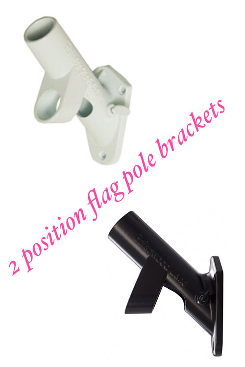 2 Position Flag Pole Bracket