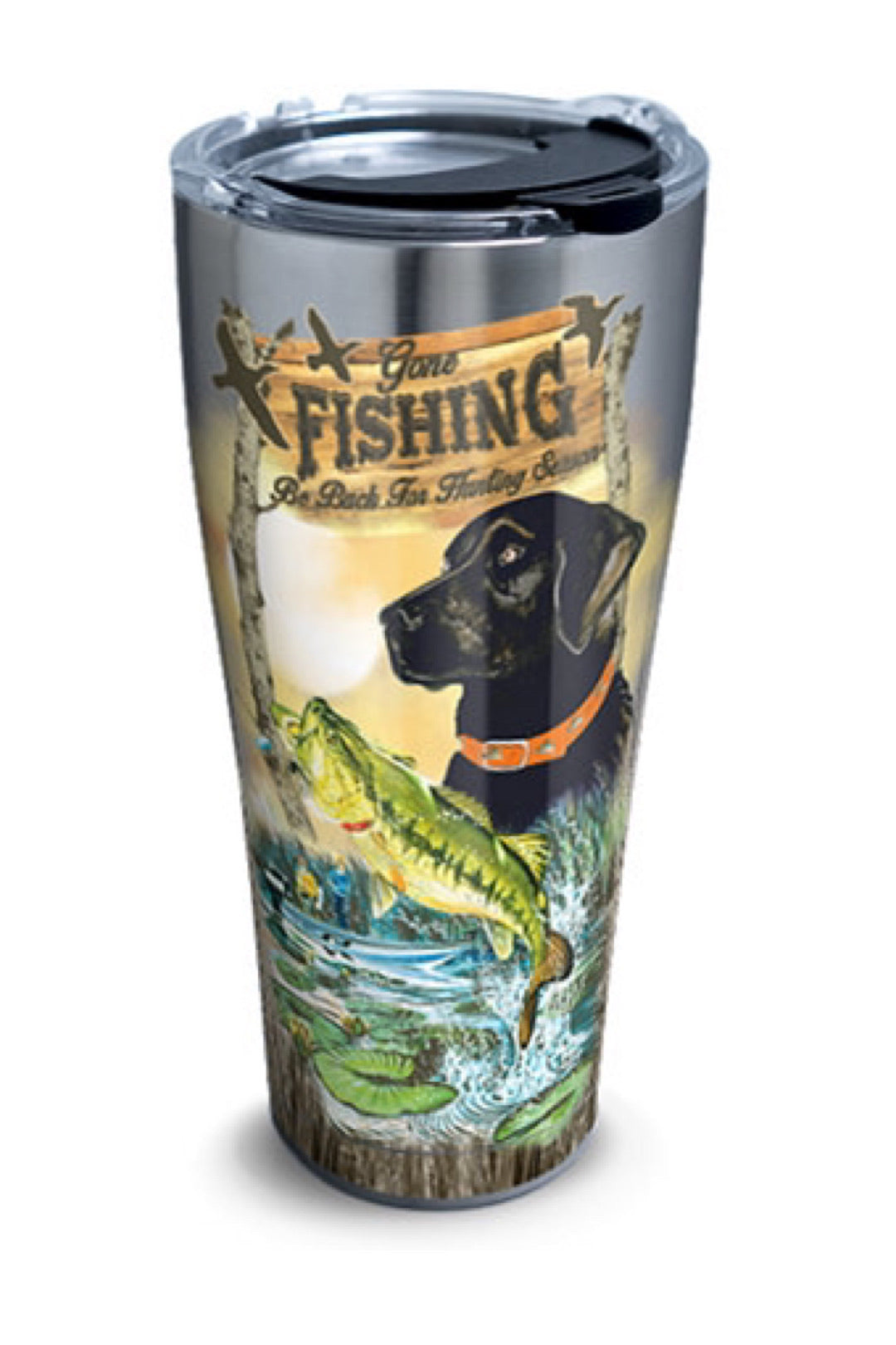 Guy Harvey - Gone Fishing Stainless Steel Drinkware by Tervis