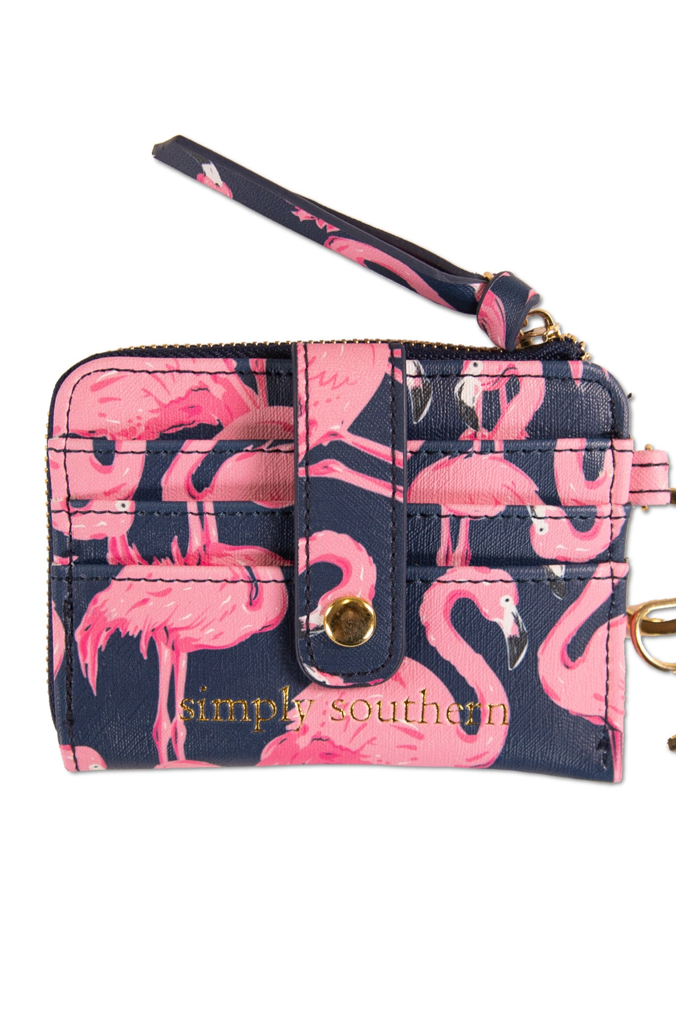 Leather Key ID Wallet by Simply Southern