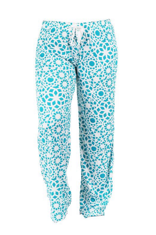 Tranquil Turquoise Lounge Pants