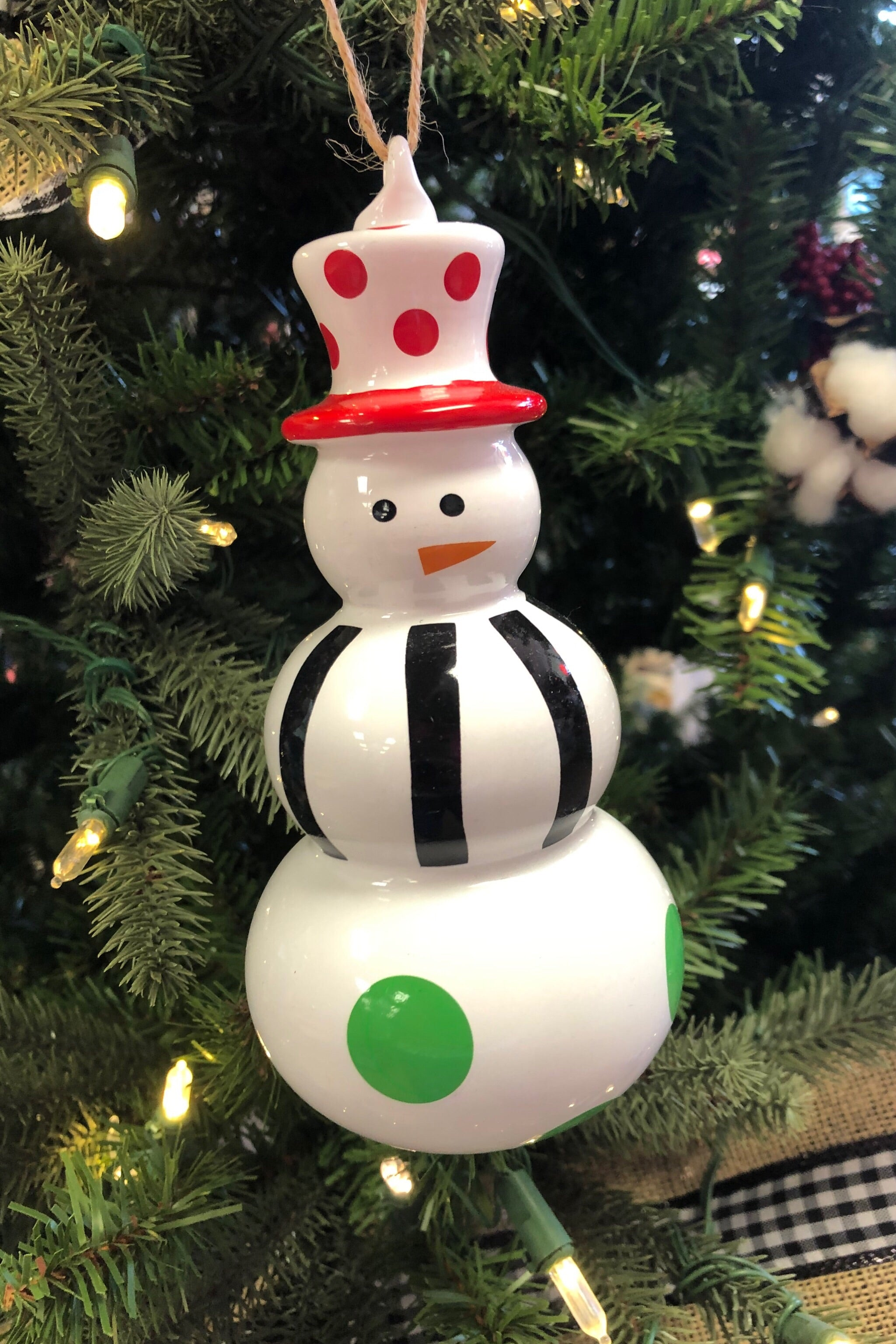 Whimsical Snowman Ornaments