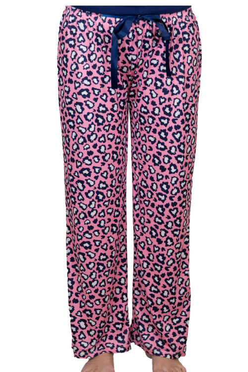 Pink Cheetah Lounge Pants by Simply Southern