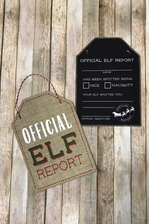 Official Elf Report