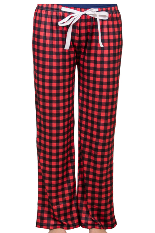 Plaid Lounge Pants by Simply Southern