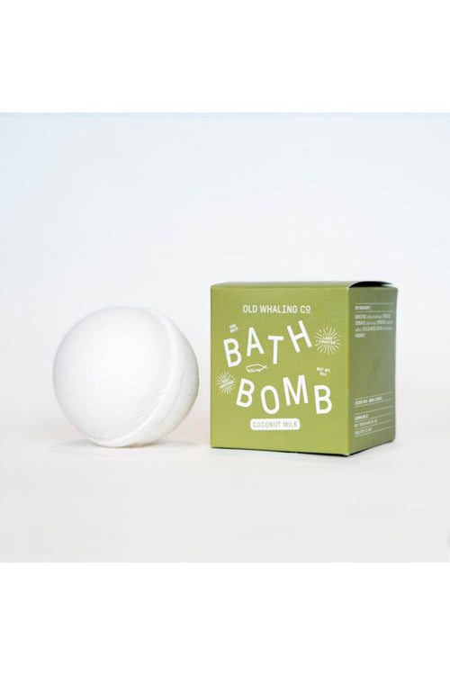 Coconut Milk Bath Bomb by Old Whaling Co.